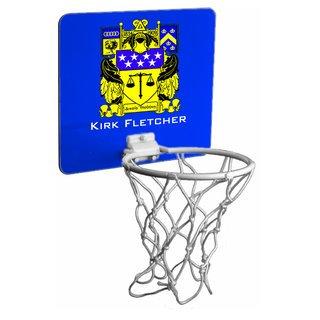 Delta Upsilon Crest Mini Basketball Hoop