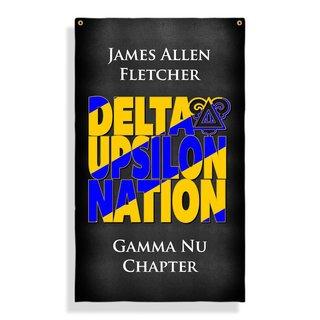 Delta Upsilon Nations Giant Flag