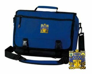 DISCOUNT-Delta Upsilon Emblem Briefcase