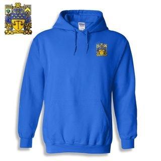 DISCOUNT-Delta Upsilon Crest - Shield Emblem Hooded Sweatshirt