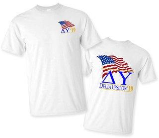 Delta Upsilon Patriot Limited Edition Tee- $15!