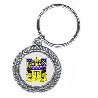 Delta Upsilon Pewter Key Ring
