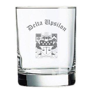 Delta Upsilon Old Style Glass