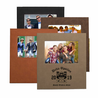 Delta Upsilon Saddle Photo Frame