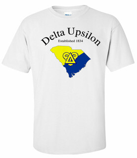 Delta Upsilon State Flag T-shirt