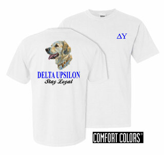Delta Upsilon Stay Loyal Comfort Colors T-Shirt