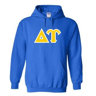 Delta Upsilon Sewn Lettered Sweatshirts