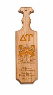 Delta Upsilon Traditional Greek Paddle