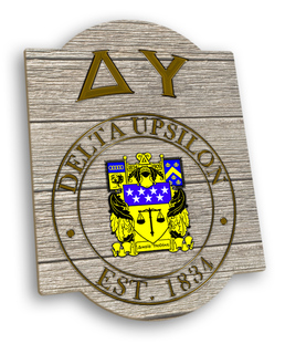 Delta Upsilon Traditional Sign