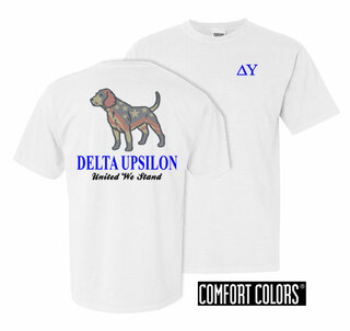 Delta Upsilon United We Stand Comfort Colors T-Shirt