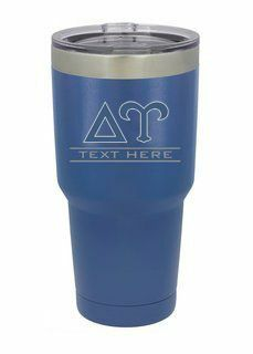 Delta Upsilon Vacuum Insulated Tumbler