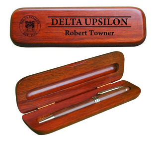 Delta Upsilon Wooden Pen Set