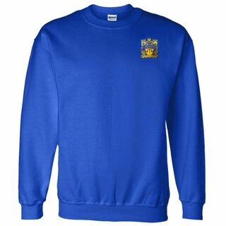 DISCOUNT-Delta Upsilon World Famous Crest - Shield Crewneck Sweatshirt