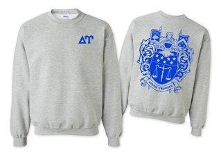 Delta Upsilon World Famous Crest - Shield Crewneck Sweatshirt- $25!
