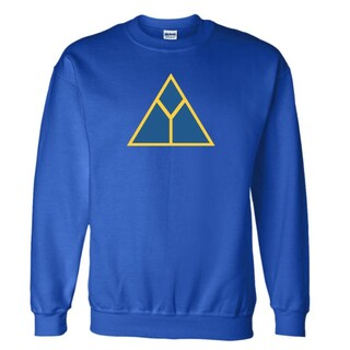 Delta Upslion Logo Crewneck Sweatshirt