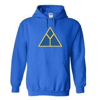 Delta Upslion Logo Hooded Sweatshirt
