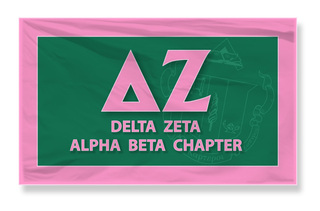 Delta Zeta 3 X 5 Flag