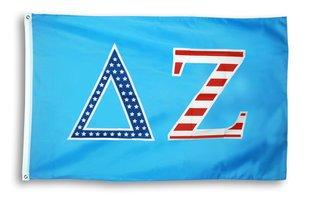 Delta Zeta 3 X 5 USA Flag