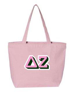 Delta Zeta 3D Letter Tote Bag