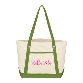 Delta Zeta Sailing Tote Bag