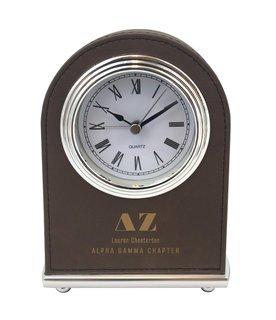 Delta Zeta Arch Desk Clock