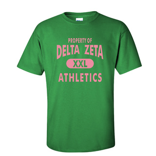 Delta Zeta Athletics Shirt