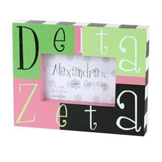 Delta Zeta Block Picture Frames
