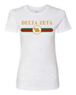 Delta Zeta Boyfriend Golden Crew Tee