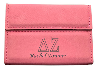 Delta Zeta Business Card Holder