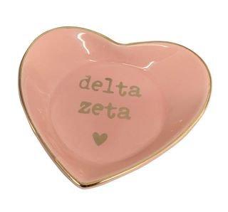 Delta Zeta Ceramic Ring Dish