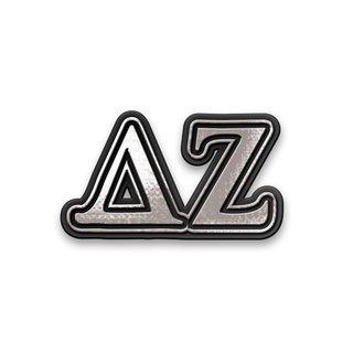Delta Zeta Chrome Car Emblem!