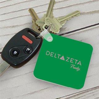 Delta Zeta Mascot Key Chain