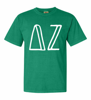 Delta Zeta Comfort Colors Heavyweight Design T-Shirt
