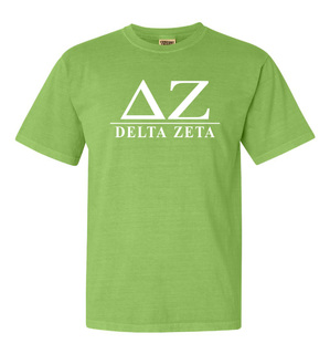 Delta Zeta Comfort Colors Heavyweight T-Shirt