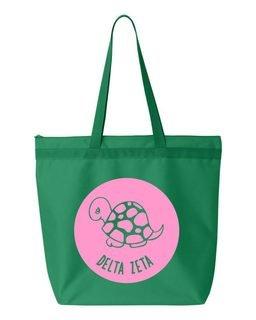 Delta Zeta Circle Mascot Tote bag