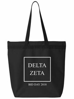 Delta Zeta Box Tote bag