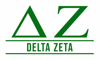 Delta Zeta Custom Sticker - Personalized