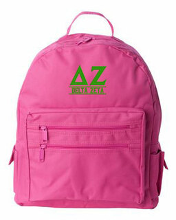 Delta Zeta Custom Text Backpack