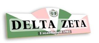 Delta Zeta Display Sign