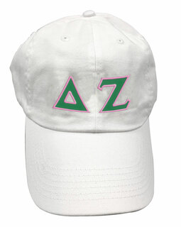 Delta Zeta Double Greek Letter Cap