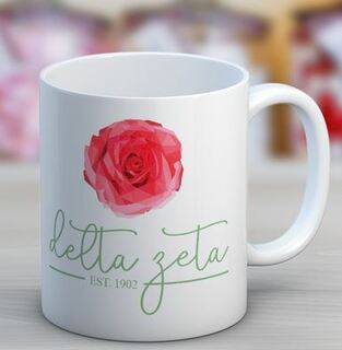 Delta Zeta Established Coffee Mug