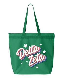 Delta Zeta Flashback Tote bag
