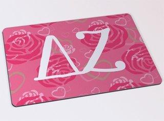 Delta Zeta Floral Mousepad
