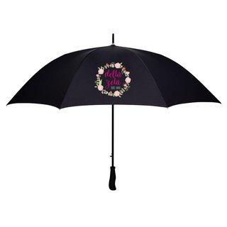 Delta Zeta Floral Umbrella
