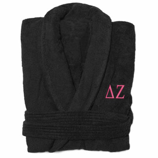 Delta Zeta Greek Letter Bathrobe