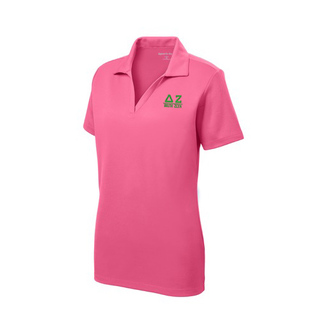 Delta Zeta Greek Letter Polo Shirts