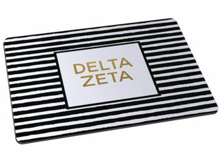 Delta Zeta Striped Mousepads