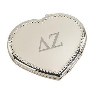 Delta Zeta Heart Shaped Classic Compact