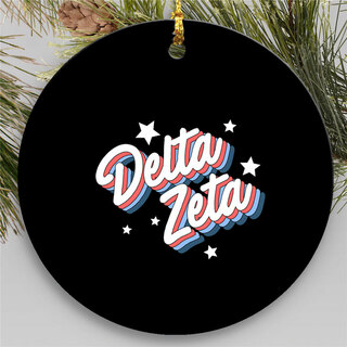 Delta Zeta Holiday Flashback Ornaments