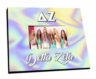 Delta Zeta Holla Picture Frame